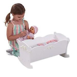 Kidkraft Tiffany Bow Cradle with Bedding