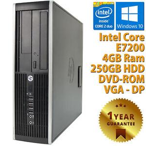 PC-COMPUTER-DESKTOP-RICONDIZIONATO-HP-DUAL-CORE-RAM-4GB-HDD-250GB-WINDOWS-10