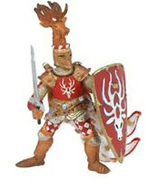 Papo Knight Stag Red Fantasy Toy Figurine 39911