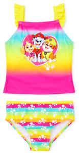 Tankini Swim Bathing Suit NWT Toddler/'s Sz PAW PATROL SKYE UPF-50 3T 4T or 5T