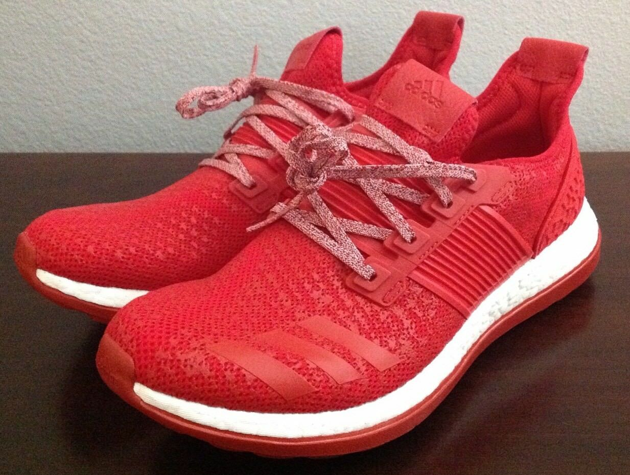 Adidas Men's PureBoost ZG Athletic  Size: Running Shoes, New Size:  11, Red, BA8453 9a9e89