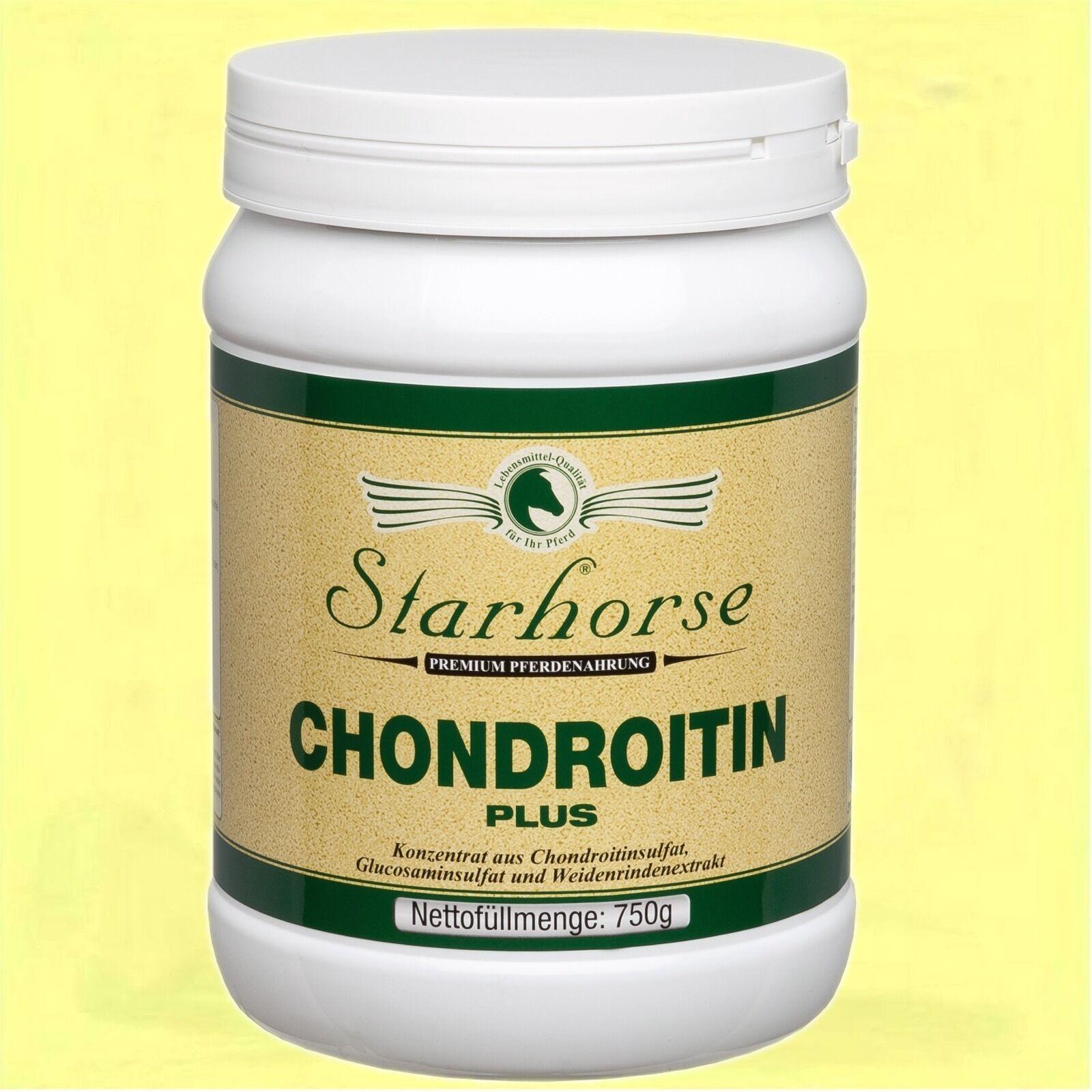 Starhorse Chondroitin Plus 750g Dose Glucosamin GAG Bewegungsapparat Pferde