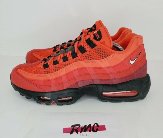 "Nike Air Max 95 OG ""Habanero Red"" AT2865-600 Running Shoes Men's Size 10"