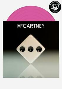 """PAUL MCCARTNEY III PINK VINYL 12"""" LP LIMITED EDITION TO 1500 ONLY RARE"""