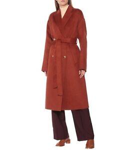 Acne Studios Belted Coat 36 Oversized Wool Alpaca FN-WN-OUTW000386 Owanne