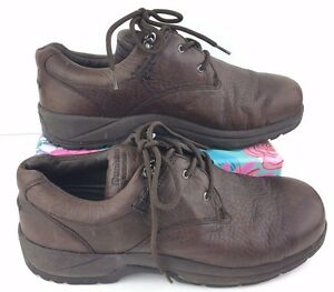 414d9067347d5c Women s Dunham 5800BR Size 10EE Waterproof Brown Leather Hiking ...