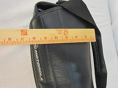 Motorola CommNet 2000 Blue Hat Promo Item for Vintage Bag Cell Phone