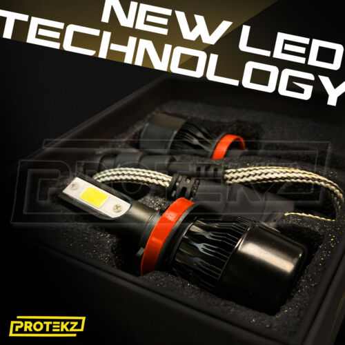 LED Headlight Protekz Kit H7 6000K High Beam for Audi A3 2009-2016 Quattro