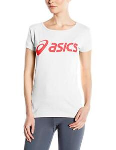 Details about Asics Women's Logo T-Shirt - Real White, 2X-Large 122863