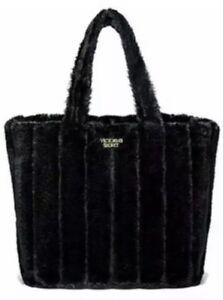 Kunstpelz Secret Schwarz Limited Bag Tote Edition Victorias ZqPf5x7xw