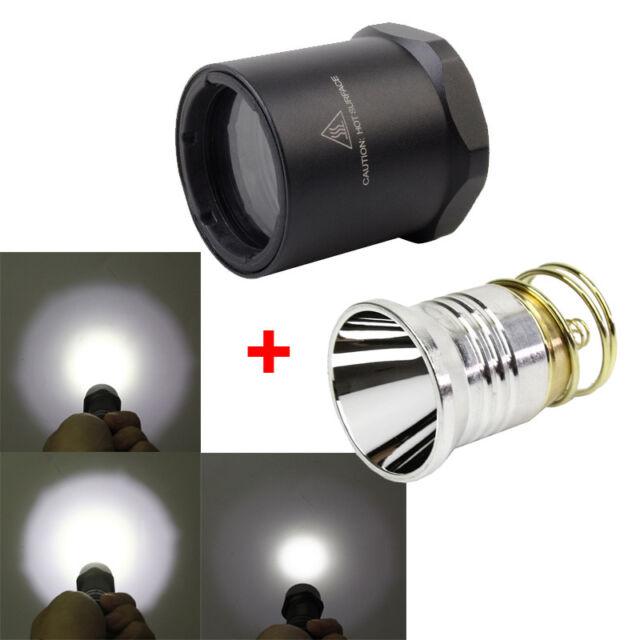 Surefire P60 P61 M951 M952 P60 LED Drop-in Mil Spec XP-L2 Smooth Mirror Finish