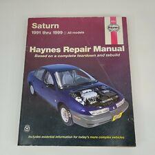 New Listingsaturn S Series 1991 2002 Repair Manual 87010 Haynes Fits Saturn Sc