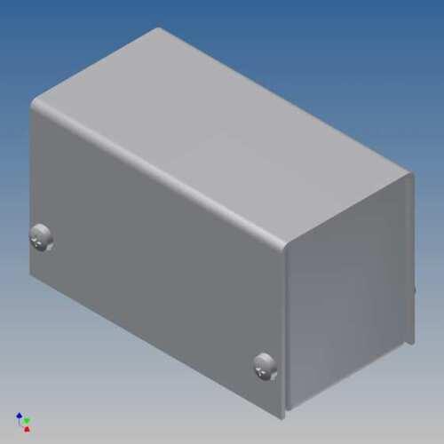 CONTENITORE TEKO AL BOX 1//B.1 METALLO ALLUMINIO SCATOLA KEYBOARD ENCLOSURES PCB