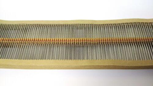 2K2 Ohm 0.25 W Carbon Film Resistor 5/% 2.2K 1//4w Reino Unido Vendedor