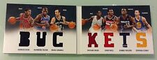 2012-13 Preferred STEPHEN CURRY /Wade/Wall/Rose Buckets 7 Jersey /199