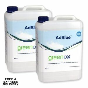 cd021c3c91f54 AdBlue 2 X 10 Litres Fuel ADDITIVE AD BLUE for SCR VW AUDI + Spout ...