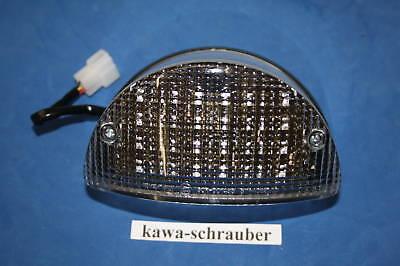 LED Klarglas Rücklicht Kawasaki Zephyr 550 Prüfzeichen