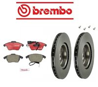 Volkswagen Cc 09-14 Brake Kit Front Brake Rotors With Pads Brembo