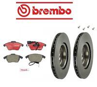 Volkswagen Cc 09-14 Brake Kit Front Brake Rotors With Pads Brembo