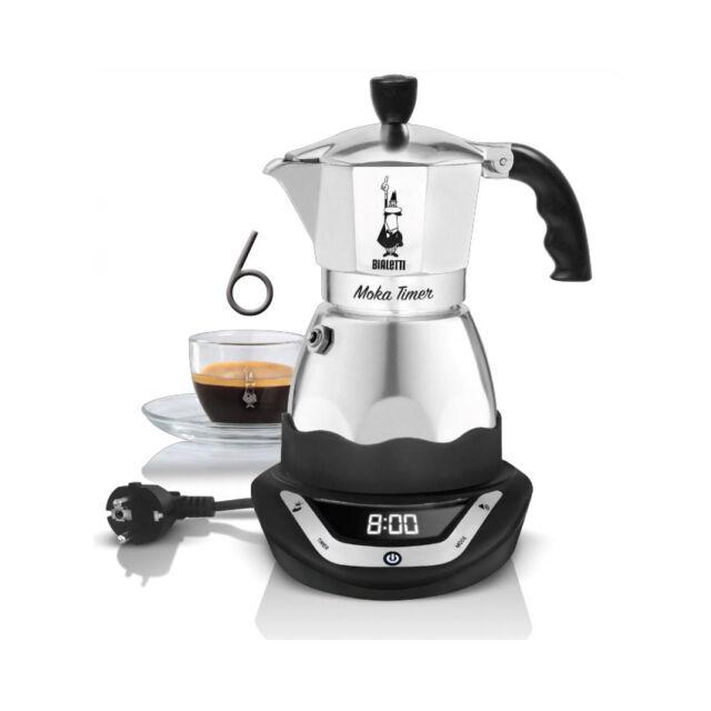 Bialetti 6093 Moka Timer Espresso Maker 6 Cups 365w Electric Percolator Genuine