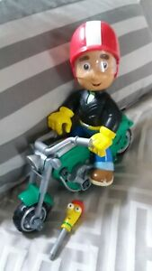 2008-Disney-Mattel-Handy-Manny-039-s-Motorcycle-Fix-It-Right-Manny-And-Motorcycle