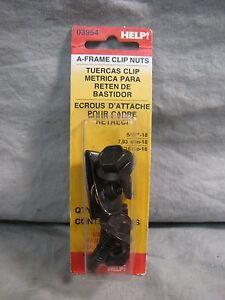 Dorman 03954 A-Frame Clip Nut 5//16-18 Pack of 2