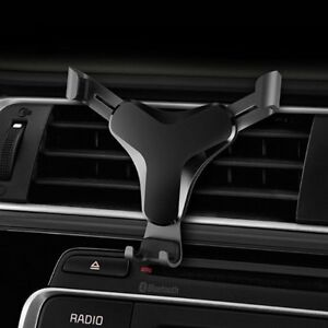 Aluminum Gravity Car Phone Holder Air Vent Mount Stand for iPhone 8 X Samsung S8