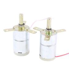 2pcs High Torque 12v Dc 25 Rpm Gear Box Stabilivolt Electric Motor Replacement