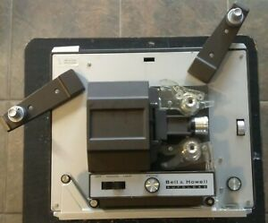 Vintage-Bell-amp-Howell-356A-Auto-Load-Super-8mm-Film-Movie-Projector-Tested-amp-Wor
