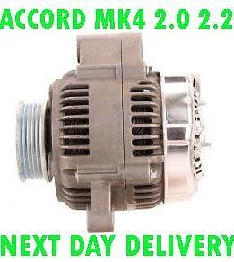 HONDA ACCORD MK4 2.0 2.2 1990 1991 1992 1993 SALOON ESTATE NEW RMFD ALTERNATOR
