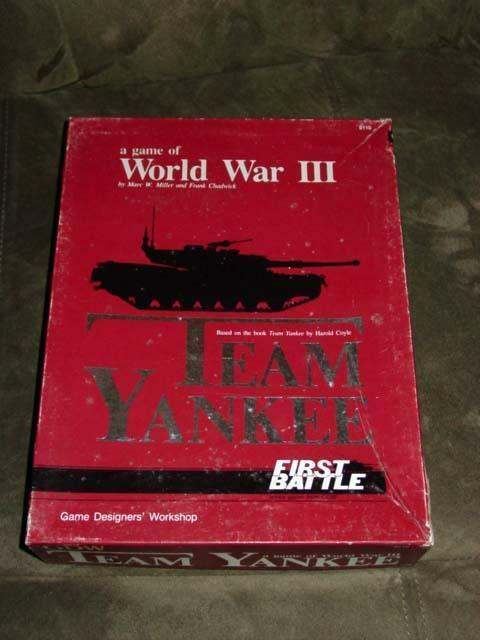 GDW 1987 - Team Yankee - Game of WWIII - First Battle Series (UNPUNCHED)