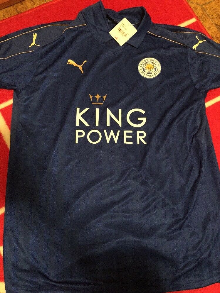 Maglia Originale Shirt Puma Leicester 2xl Premier League Champions