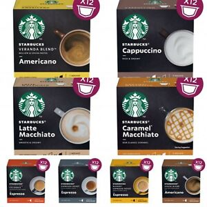 Details About Nescafe Dolce Gusto Starbucks Coffee Capsulepods Combined Postage