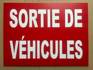 panneau-034-SORTIE-DE-VEHICULES-034-signaletique