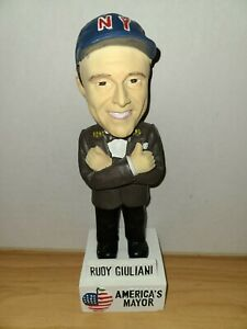 Rudy Giuliani America's Mayor Bobble Head New York Collectible Loose Dreams