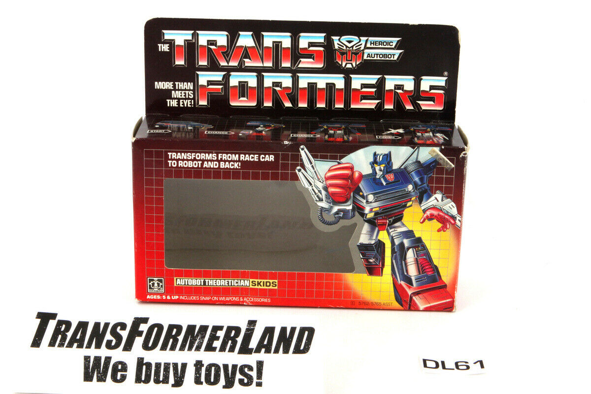 SKinder Verpackungage 1985 Jahr Hasbro G1 Transformers