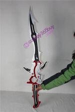 Final Fantasy XIII 13 Lightning sword blade pvc made 43inch cosplay prop
