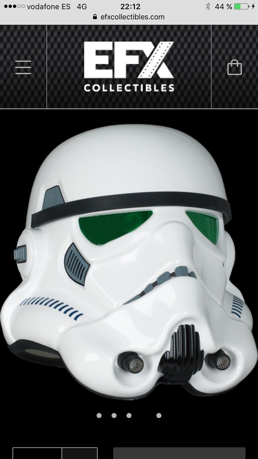 EFX STAR WARS A NEW HOPE STORMTROOPER HELMET 1 1 PRECISION CAST REPLICA