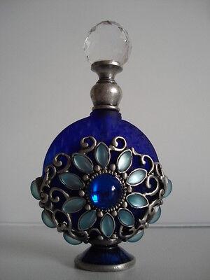Analitico Profumo Nuovo Di Zecca In Scatola Bottiglia/decanter Jeweled Decorato Profumo Regalo-mostra Il Titolo Originale