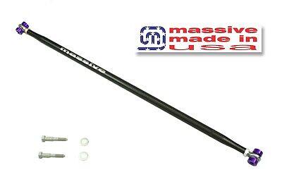 Massive Panhard Adjustable Bar Rod 82-02 F Body Camaro Firebird Steel MIRROR RED