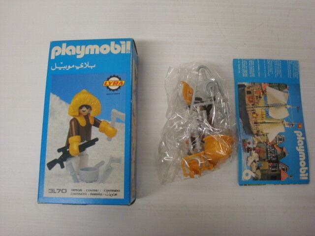 Playmobil Lyra état Neuf En Boite Sachet Scellé - Esquimau 3l70