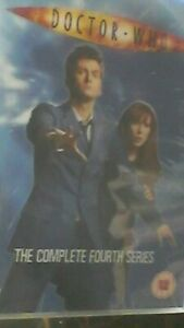 Doctor-Who-Series-4-4th-Complete-BBC-6-x-Disc-Set-season-4-fourth-4th-four