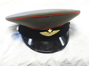 Russian Military Dress Hats (red)