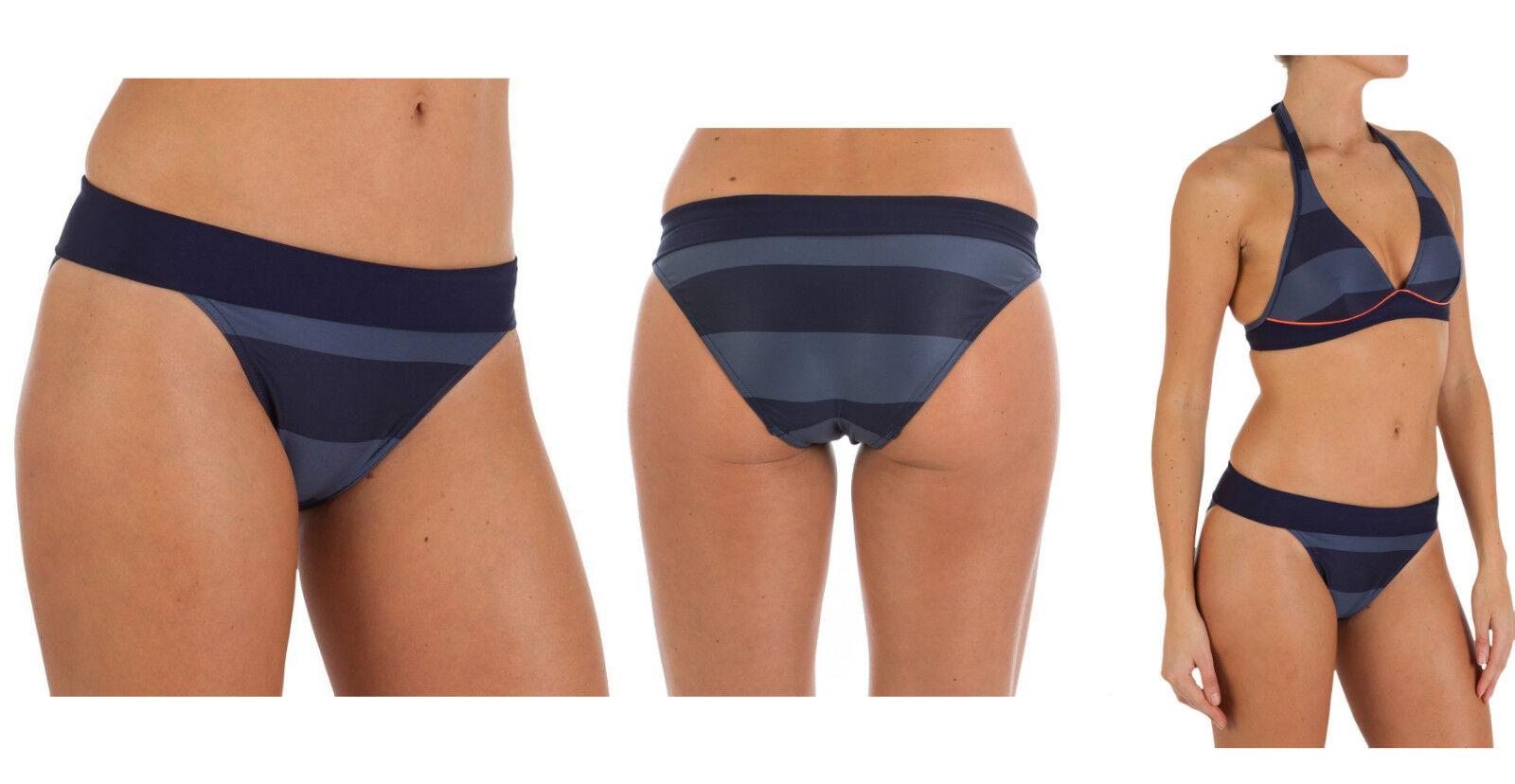 TRIBORD HOHER TAILLENBUND Damen Bademode Bikini-Hose Swimming Pant, Gr. 36-42