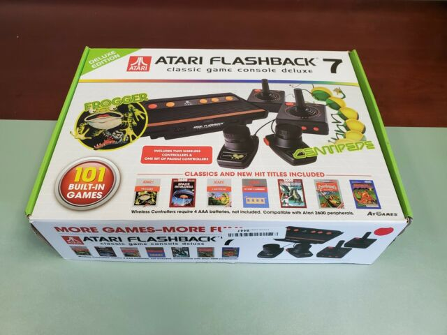 Atari Flashback 7 Deluxe Special Edition 101 Games For Sale Online Ebay