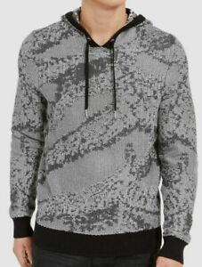 I-N-C Mens Hooded Pullover Sweater