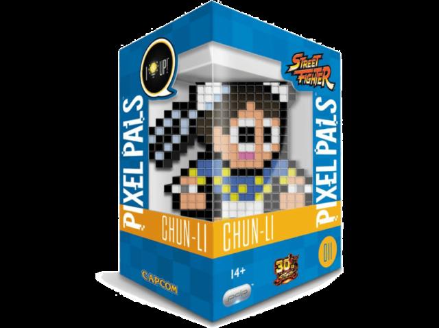 Figura - PDP Pixel Pals - Street Fighter, Chun-Li, 15 cm