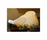 Qvc Kringle Express Flameless Candle Illuminated Porcelain Partridge With Timer