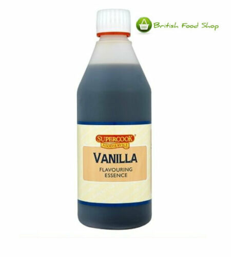 DR OETKER VANILLA FLAVOURING ESSENCE SUPERCOOK 500ml CATERING SIZE CASE OF 6