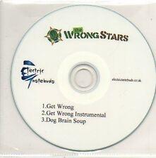 (897D) The Wrong Stars, Get Wrong - DJ CD
